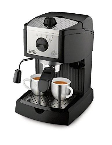 De'Longhi EC155 15 Bar Pump Espresso and Cappuccino Maker,Black