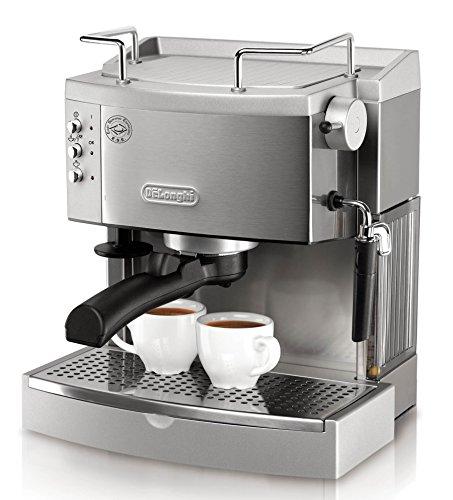 De'Longhi 15 bar Pump Espresso Maker, EC702, Metal
