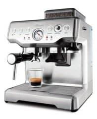 brevelee espresso machine with pump and built in grinder