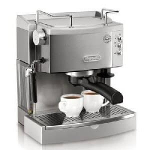 DeLonghi EC702 automatic espresso machine