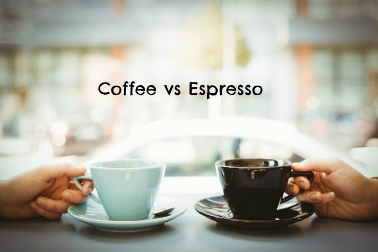 coffee vs espresso