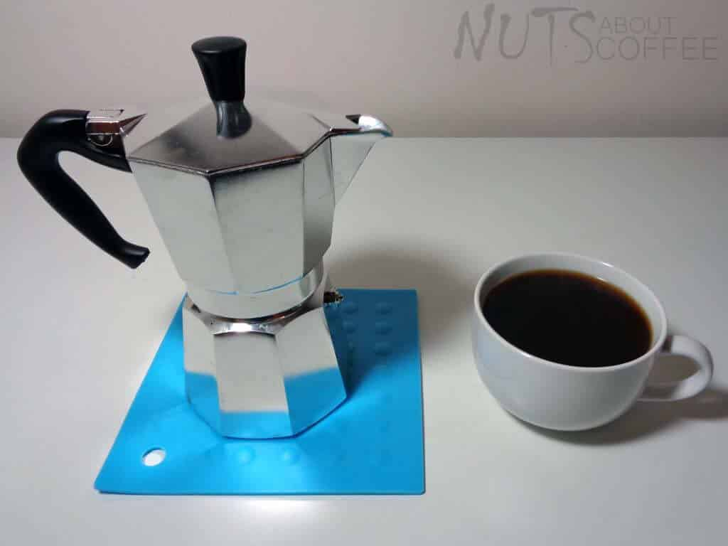 drink the espresso straight or dilute 2 shots with boiling water