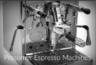 Prosumer Espresso Machines