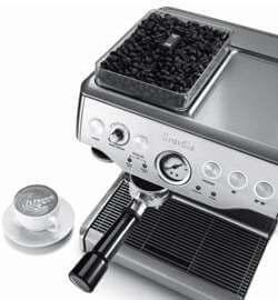 Breville espresso machine grinder