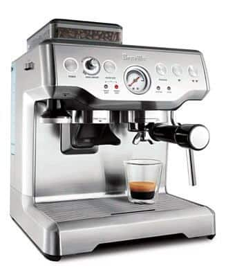 Breville espresso coffee machine