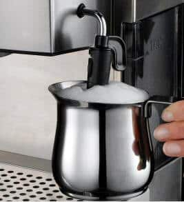 Milk Frothing with the DeLonghi EC702