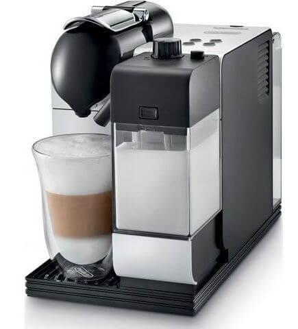 DeLonghi Nespresso Lattissima coffee pod machine